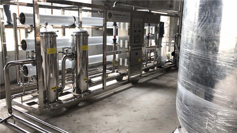 郑州维纳维纳啤酒有限公司15T/H反渗透设备